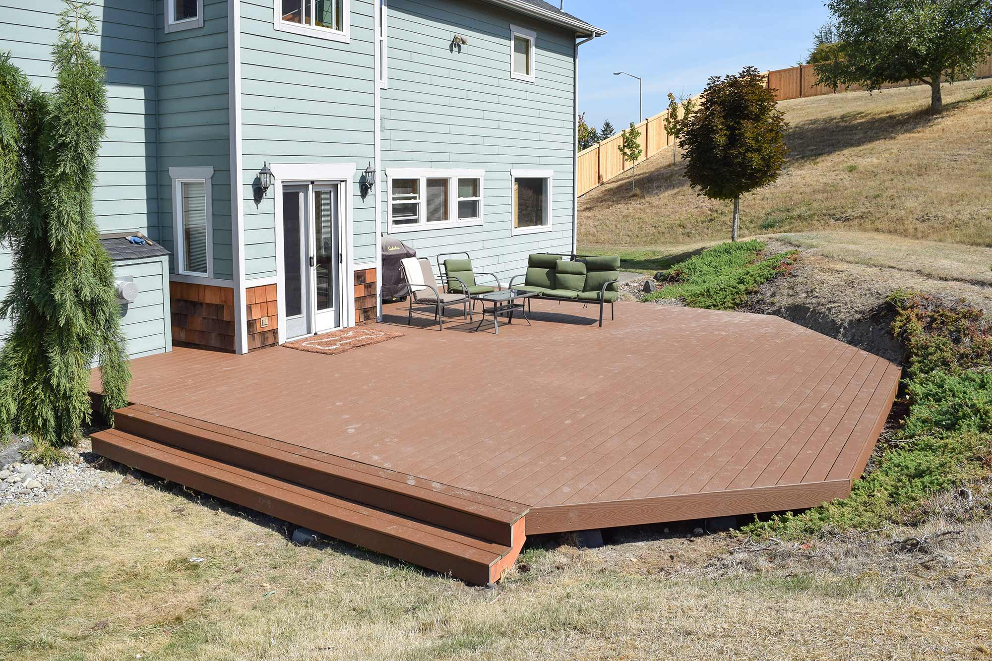 Lacey Trex Decking Installation Ajb Landscaping Amp Fence
