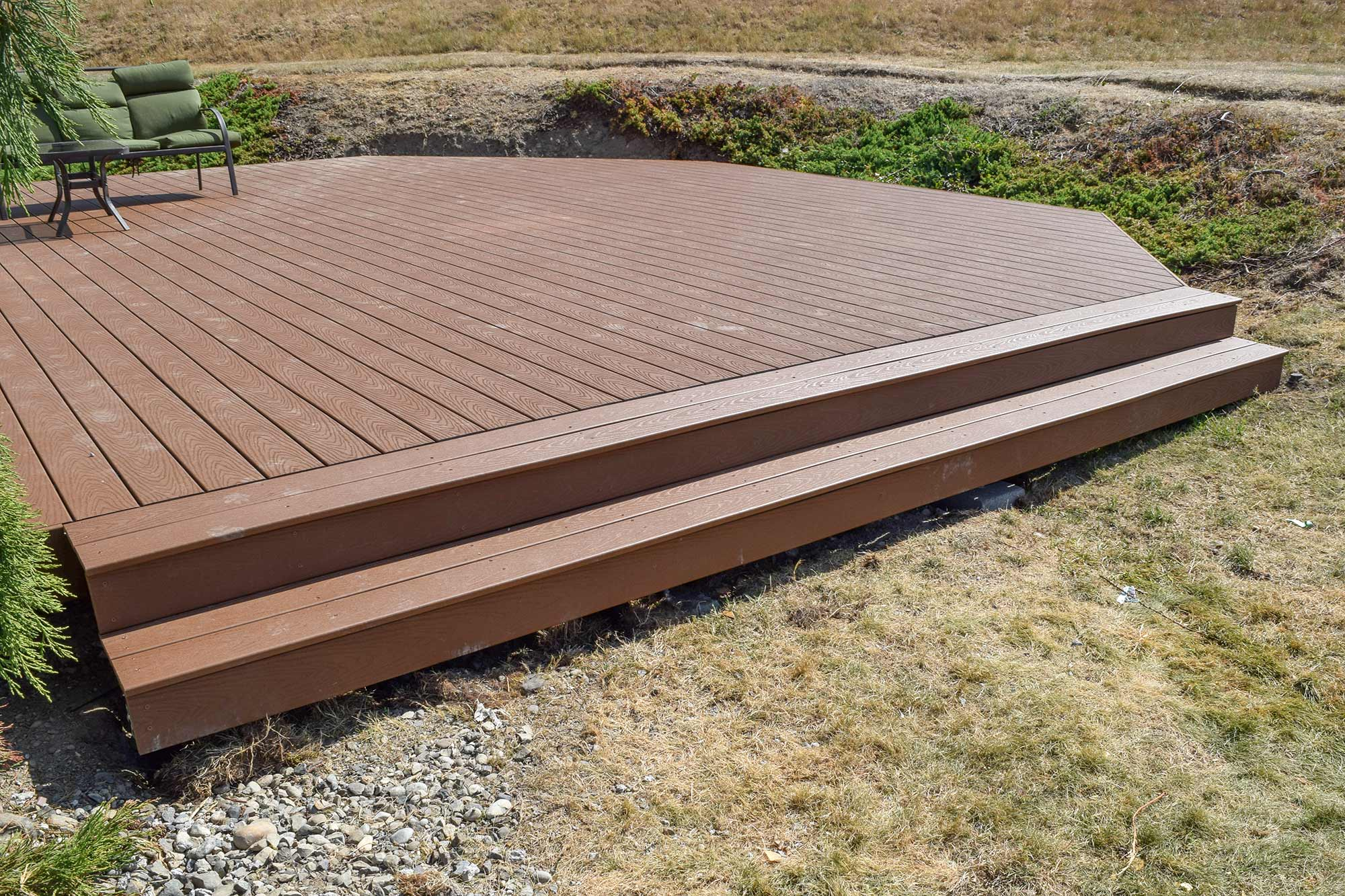 Lacey trex decking installation ajb landscaping fence Composite flooring for decks