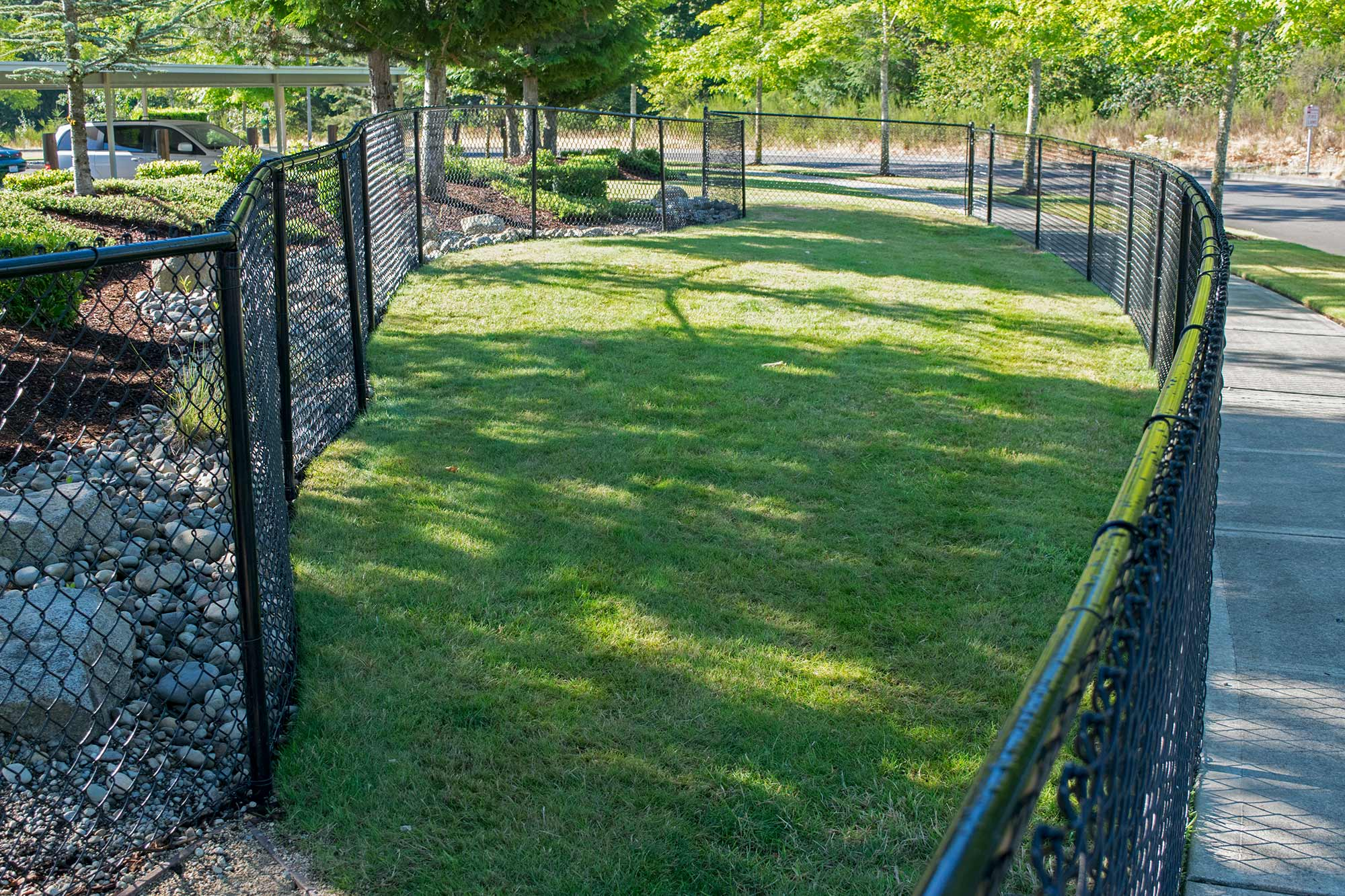 Pet Fence and Exercise Area in Dupont - AJB Landscaping & Fence