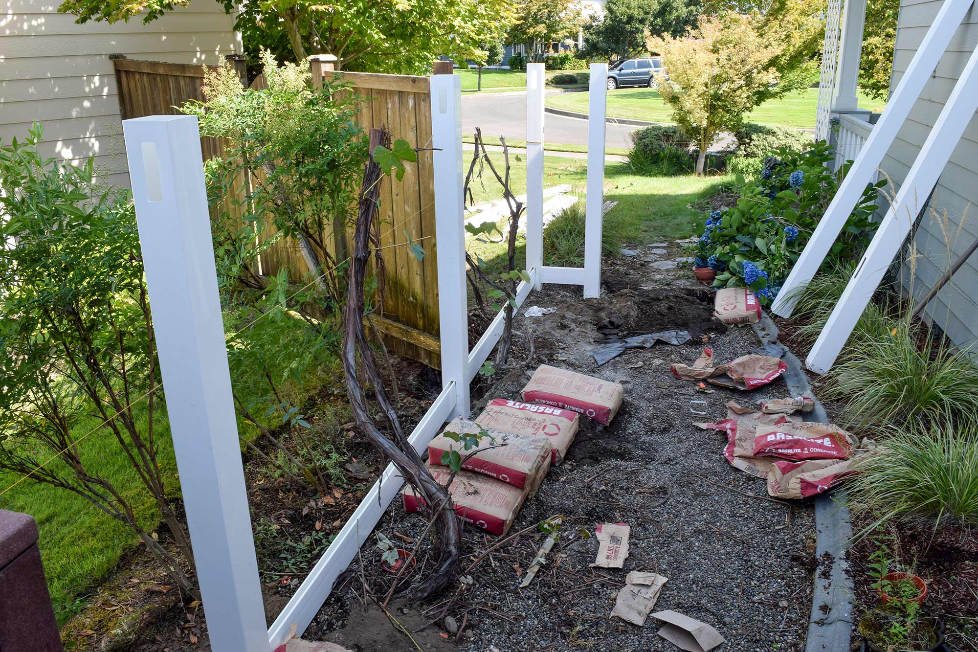 How To Install Vinyl Fence Post Mycoffeepot Org