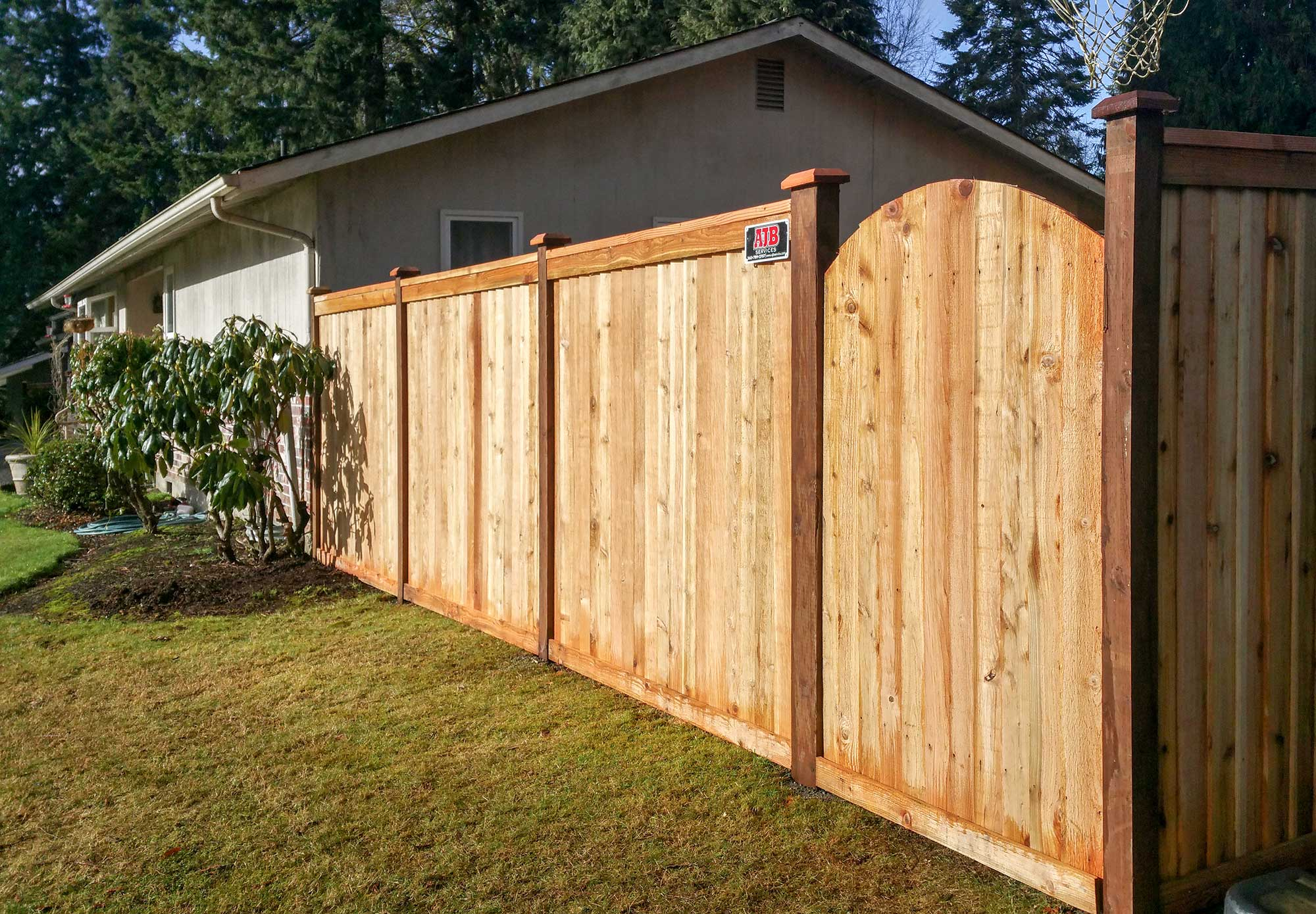 Backyard Makeover for Special Needs Family - AJB Landscaping & Fence