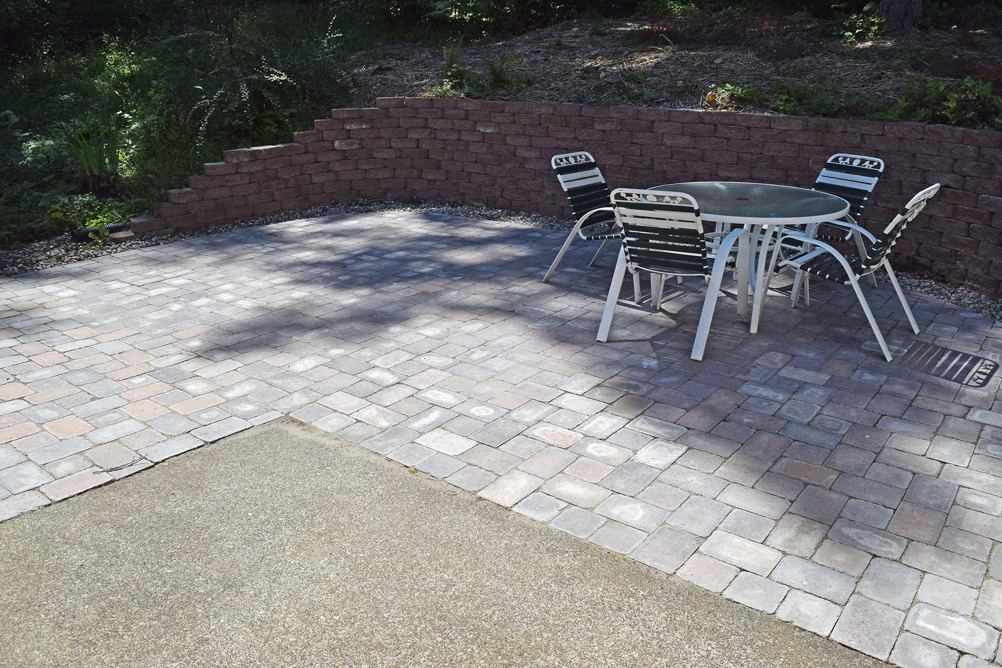 ... Click To Enlarge Image 23 After Pavers Paver Patio Extension Paver  Patio Extension ...