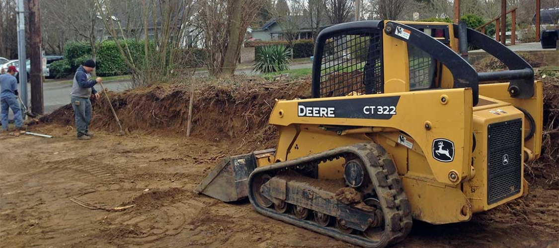 Excavation and grading in Olympia and Tacoma