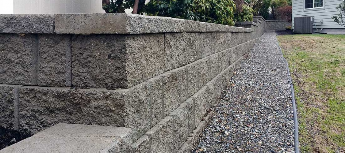 Landscaping Rocks Tacoma : Landscaping fence installation retaining walls olympia and tacoma